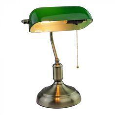 Φωτιστικό γραφείου Vintage E27 γυαλί-μέταλλο πράσινο VT-7151 V-TAC 3912Κωδικός προϊόντοςVT-7151ΚατανάλωσηMax.60WΤάση/συχνότηταAC:220-240V/50HzΥλικόΓυαλί...