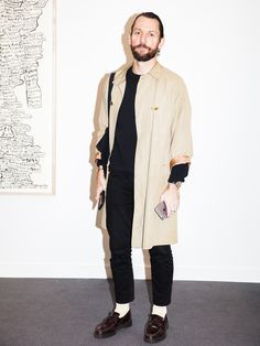 Frieze Street Style - perfectly complete outfits with a simple jacket like this one.