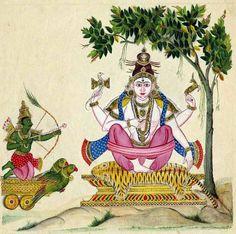 Kama Shiva circa 1820