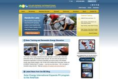 Solar Energy International is a non-profit educational organization. Mission: To empower people around the world through the education of sustainable practices. -- Nonprofit website by Blue Tent Marketing, view more samples: http://www.bluetentmarketing.com/portfolio/nonprofit