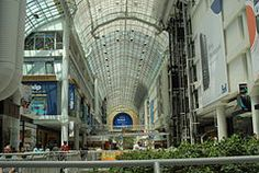 Eaton centre toronto hall