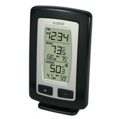 Wireless outdoor temperature (°F)     Monitors indoor temperature (°F)     Records MIN/MAX temperature     Low battery indicator for receiver and sensor     200 ft transmission  Product Details      Product Dimensions: 3.2 x 1.5 x 5 inches ; 7.2 ounces.