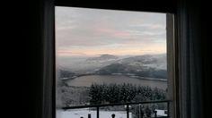 Camera Azzurra vista Lago di Suviana...inverno!!