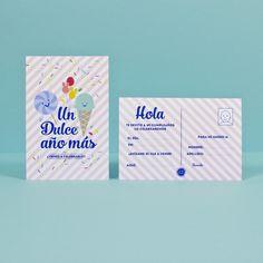 Invitación Candy / 2 ud. – La Fiesta de Olivia Ideas Para, Candy, Fiestas, Invitations, Sweets, Candy Bars, Chocolates