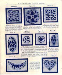 """No. 52. Needlecraft Journal. Danish """"Hedebo"""" Embroidery - Doris - Álbumes web de Picasa"""