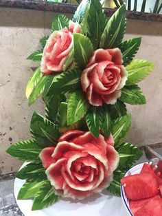 Food Carving, I Foods, Most Beautiful Pictures, Rose, Amazing, Flowers, Plants, Fotografia, Meals