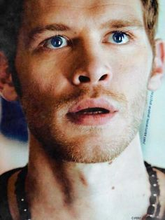 Klaus...blue eyes :).