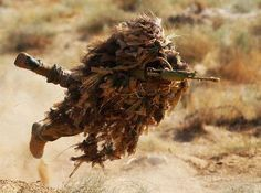 tumbleweed camo........the moving sniper