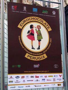 Eurochocolate Festival in Perugia, Italy