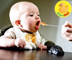 Retete de piureuri pentru bebelusi: lunile 4-6 | Desprecopii.com Baby Kids, Baby Boy, Baby Food Recipes, Animals And Pets, Children, Bb, Food, Recipes For Baby Food, Pets