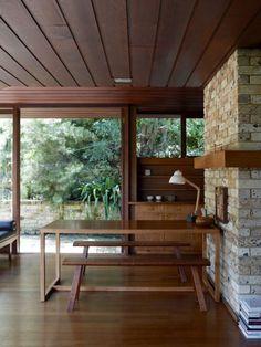 Bruce Rickard designed house, Clontarf (Sydney). 1960s.