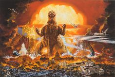 Deep Fried Movies takes a look at the work of Japanese illustrator Noriyoshi Ohrai, best known stateside for his series of Star Wars and Godzilla posters in a career that spans literally thousands …
