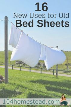 Bed sheets are free or inexpensive fabric sources. Instead of hauling old sheets away in boxes, figure out if there is some way you can give them new life. Old Bed Sheets, Fitted Sheets, Sewing Projects, Diy Projects, Sewing Ideas, Recycling Projects, Quilting Projects, Sewing Crafts, Sewing Patterns