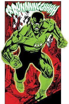 Green Lantern John Stewart by Bernard Chang