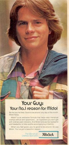 """That's right, girls — be the you HE likes. Even if your Guy (note cap """"G,"""" crampy chicks) wears patchwork-quilt shirts and looks like Ally Sheedy."""