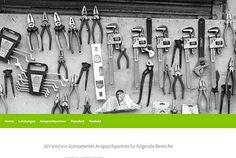 Beispielwebseite für Handwerker - der WEB-Krüb(l)er - Martin Krüber. Holen Sie sich eine Idee, wie Ihre künftige Webseite aussehen könnte