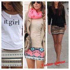 Faldas estilo étnico un hit que no puede falta en tu guardarropa
