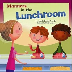 Read this when going over rules and procedures for lunch room. I need this book!