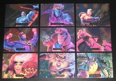 1994 #marvel #masterpieces powerblast #insert set of 9 cards nm/m ,  View more on the LINK: 	http://www.zeppy.io/product/gb/2/152003460884/