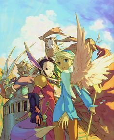 Breath of Fire 4 Art & Pictures Characters