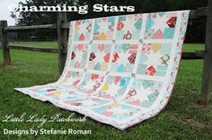 Charming Stars QuiltTutorial on the Moda Bake Shop. http://www.modabakeshop.com