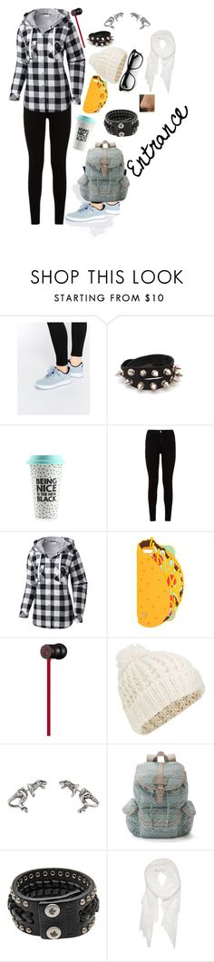 """She entered"" by smokeylovebae ❤ liked on Polyvore featuring NIKE, 7 For All Mankind, Columbia, Beats by Dr. Dre, Accessorize, Mudd, Dsquared2 and Calvin Klein"