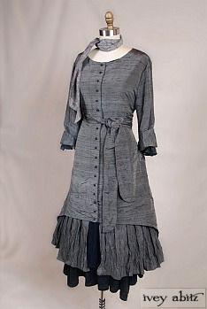 Blanchefleur Duster Coat by Ivey Abitz