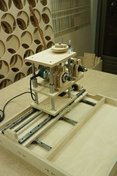 Woodworking, Multi Router, Horizontal router and drill: Woodworking For Kids, Router Woodworking, Woodworking Machinery, Woodworking Workshop, Woodworking Projects, Diy Router, Router Tool, Diy Cnc, Wood Router
