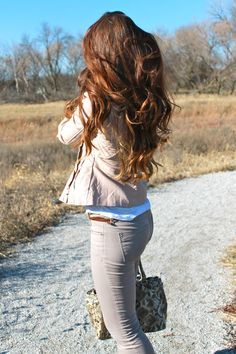 Can I trade my hair in for this?! So pretty! And not so crazy!