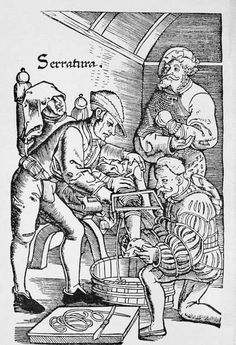 Medieval medicine: Hospital death rates were so high that sometimes a requiem mass was held for people entering the hospital, as if they'd already died.       Some wounds were treated with cautery. A burning iron was pushed into a wound until it hit bone, or boiling oil and treacle was poured into the wound.