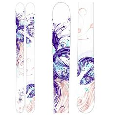 I love love love these skis - so awesome in any conditions.