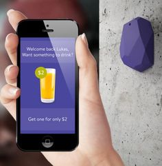 Beacons are devices that communicate with the apps on your phone while you're shopping in real life. They can bring up things like store maps, payment methods, and coupons. Cool or annoying?