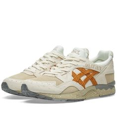 The Asics Gel Lyte V model has been kitted out in two culinary-inspired earthen colourways derived from the 'diamonds of the kitchen': the Tartufo funghi. This elusive mushroom is found in central Italy and is the basis for the appropriately Autumnal hue of each of these designs. Boasting textured ostrich leather and brushed suede uppers to mimic the look of the black and white truffles, these kicks retain the tech detailing for which they are acclaimed, with high-density midsole and…