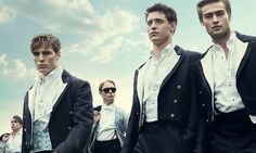 The Riot Club stars Max Irons and Sam Claflin.