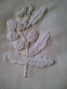 Irish Mountmellick embroidery