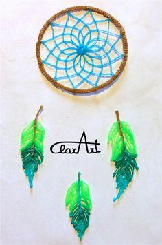 ClarArt - creations & ideas: Dreamcatcher 3D Pen