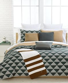 CLOSEOUT! Lacoste Sergels Comforter and Duvet Cover Sets