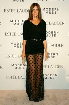 Carine Roitfeld Photos: Arrivals at the Estee Lauder Fragrance Party