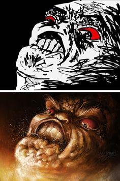 Meme Faces Evolved: The Artwork of Sam Spratt