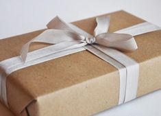 brown paper packages tied up in *ribbon*.. these are a few of my favorite things
