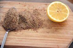 Come usare il limone + i semi di lino per depurare l'organismo, ridurre gli…