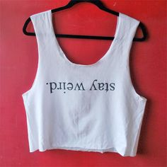 Learn how to recreate shirts with freezer paper like we did on this Brandy Melville Inspired top!