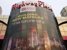 #SHRI Group's Highway Plaza located on Delhi-Agra Highway, on NH-2 in Mathura is the first mall project in the city. With it's maze of walkways and fast-food courts, it's a paradise for shopaholics and food lovers.   Located on highway, it is a center of attraction for tourists as well as locals of Mathura to halt, visit and browse the mall.