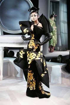 Christian Dior, interesting dress..there's something about it..