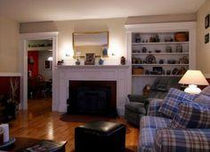 Living Room Too! Fireplace.