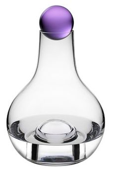 This unique carafe also doubles as a stunning vase - just place the amethyst ball in the open space beneath the container. Great gift!