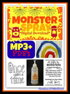 """""""Monster Spray"""" Digital Download Mp3 + Pdf's from Debbie Clement $"""