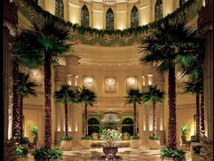 The Lobby at Kerzner's The Palace of the Lost City at Sun City, South Africa