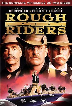 Rough Riders - Complete Mini-Series (2-DVD) (1997) - Television on Directed by John Milius; Starring Tom Berenger; Turner Home Ent $5.98 on OLDIES.com