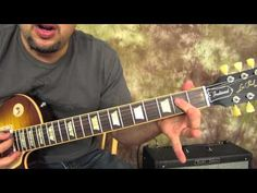 Kiss - Rock and Roll all Nite and Party Every Day - Rock Guitar Lesson - Les Paul - YouTube